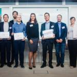 Le jury et les lauréats du StartUp Context Next Tourisme 2016 Crédit photo : Guillermo Gomez