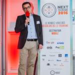 Stéphane Loire (Next Content) - Next Tourisme 2016 Crédit photo : Guillermo Gomez
